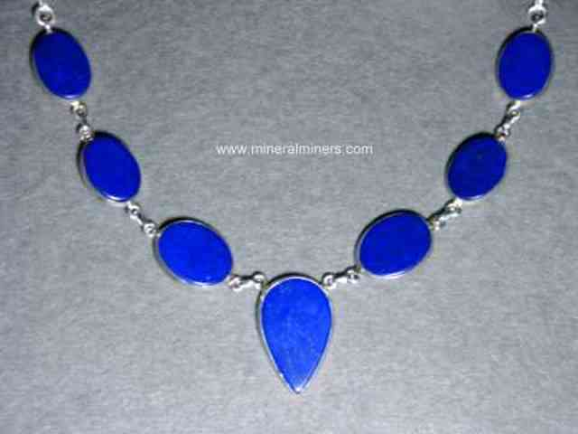 Lapis Lazuli Jewelry in Sterling Silver